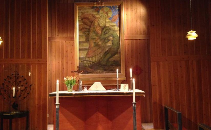 Altaret i Åh kyrka
